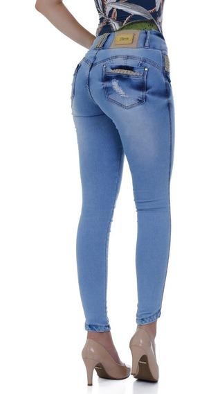 Calça Kit Com Quatro Calças E Quatro Shorts Jeans Zigma