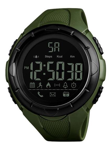Homens Esportes Digital Display Bluetooth Alarme À Prova D
