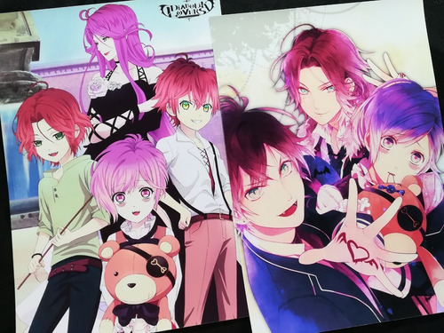 Posters A3 29x42cm Anime Diabolik Lovers #1 / Niponmania