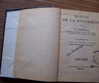 Manual De La Enfermera-ilust-p.dura-830 Pag-aut-m.usandizaga
