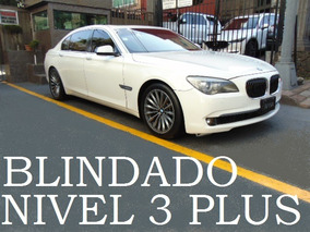 Bmw 750ila 2011 Blindado Nivel 3 Plus Blindaje Blindada