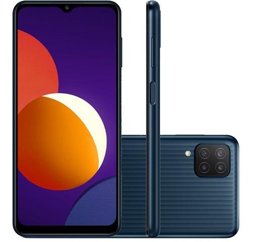 Celular Smartphone Samsung Galaxy M12 M127f 64gb Preto - Dual Chip