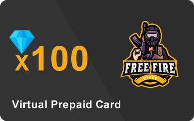 100 Diamantes Garena Free Fire Sudamerica