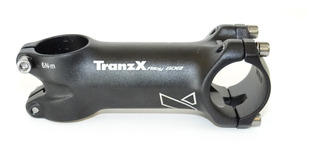 Mesa Tranzx Mtb 31,8mm 90mm 6° Alumínio Preta