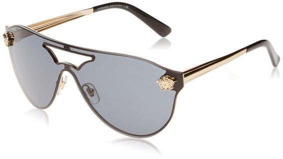 Versace Ve2161 Gold / Gray Para Mujer