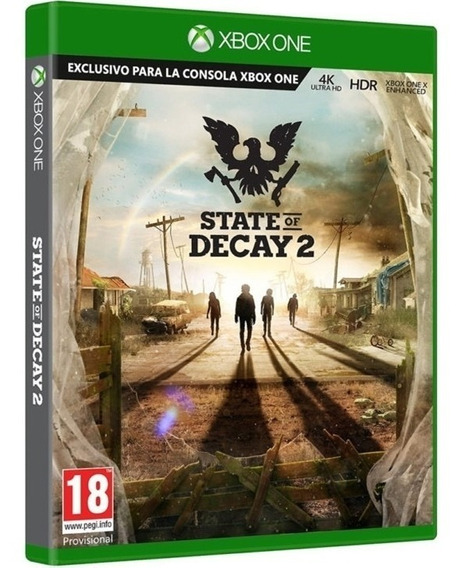 Jogo State Of Decay 2 Xbox One Disco Fisico Novo Português