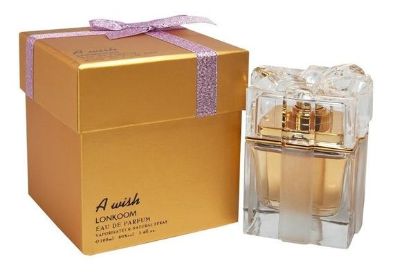 Perfume A Wish Lonkoom Fem Eau De Parfum 100ml Original