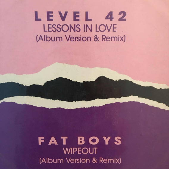 Lp Level 42 E Fat Boys