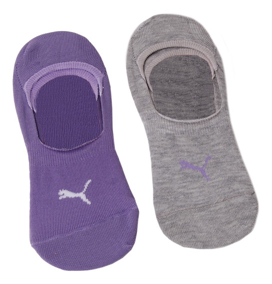 Medias Best Sox C Training Puma Footie P X 2 Mujer La/gr