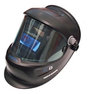 Careta-casco Electrónica Para Soldar Redbo Envío Gratis!