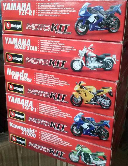 Moto Kit Burago Escala 1/18