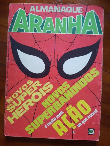 Almanaque Do Homem Aranha! Nº 8! Rge! Ótimo!