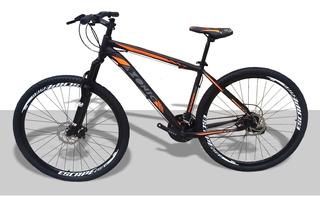 Bicicleta Aro 29 Alum Azonic Cambio Shimano 24 Vel.
