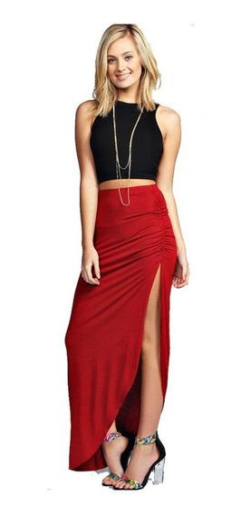Elegante Kit Falda Blusa Top Moda Para Mujer Dama 5135