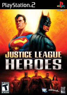 Justice League Heroes Playstation 2