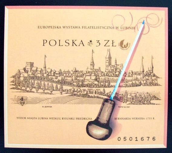 Polonia, Bloque Sc. 3602 Vista Lubin S Dentar Mint L6311