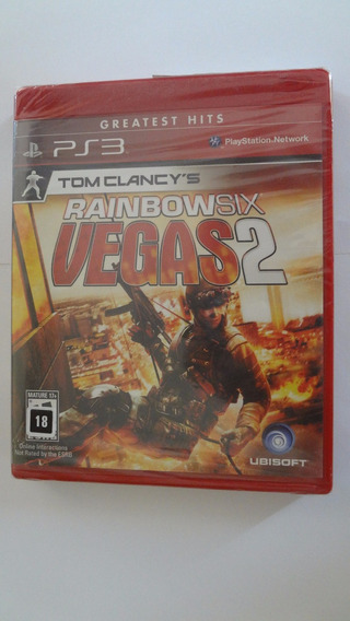 Rainbow Six Vegas 2 Ps3 Novo E Lacrado