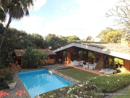 Casa Com 4 Dormitórios À Venda, 550 M² Por R$ 1.850.000,00 - Granja Viana - Carapicuíba/sp - Ca13514