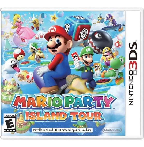 Mario Party Island Tour Nintendo Usado 3ds Perfeito Estado