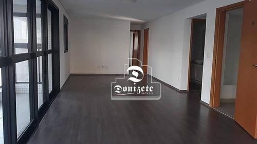 Apartamento Com 3 Dormitórios À Venda, 140 M² Por R$ 1.350.000,00 - Jardim - Santo André/sp - Ap14268
