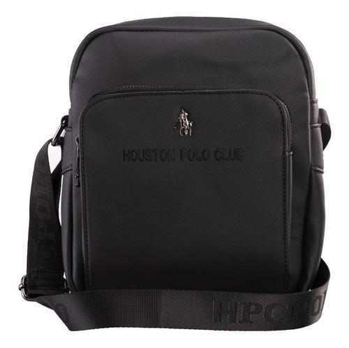 Imagen 1 de 7 de Bolsa Crossbody Hpc Polo Logo En Bajo Relieve