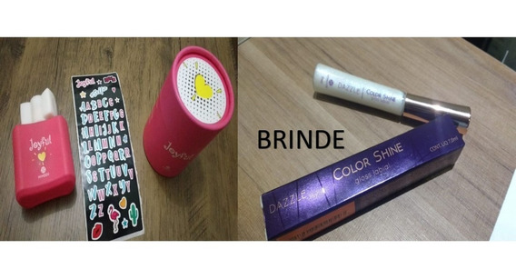 Presente Para Menina Perfume Joyful + Brinde Gloss Labial