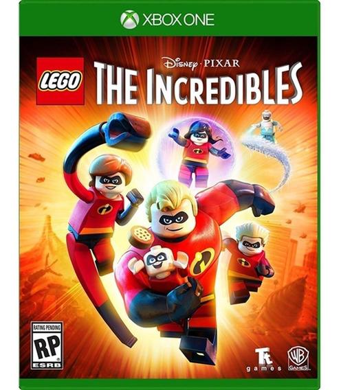 Lego The Incredibles Xbox One Mídia Física Novo Lacrado