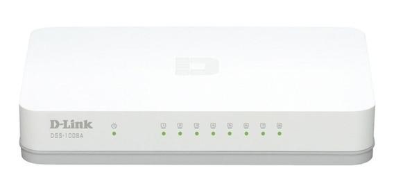 Switch Gigabit 8 Portas D-link 10/100/1000 Envios 24hs