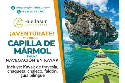 Navegación En Kayak Capilla Y Catedral De Mármol