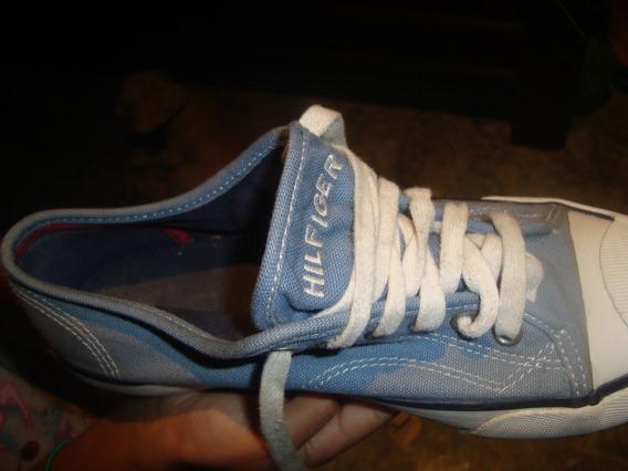 Zapatos De Goma Tommy Hilfiger Talla 5 1/2 M (unisex)