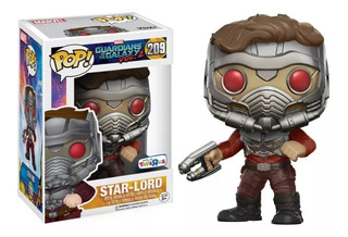 Funko Pop Marvel Guardians Of The Galaxy Star-lord Toys R Us