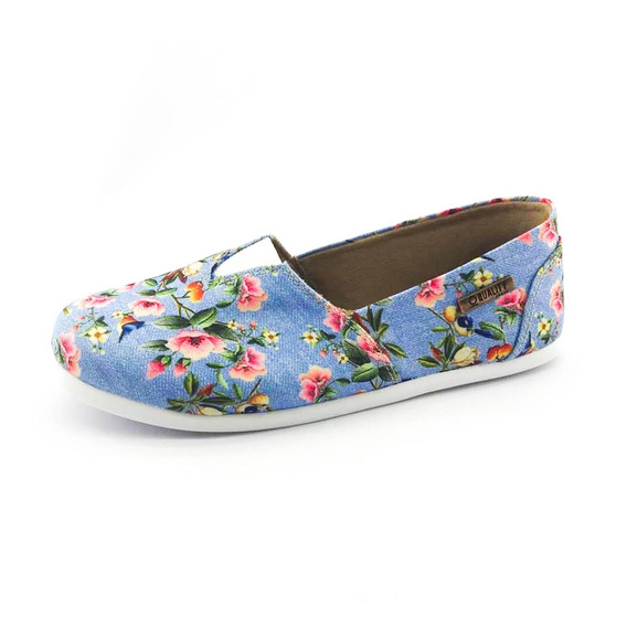 Alpargata Quality Shoes Feminina 001 Floral 797