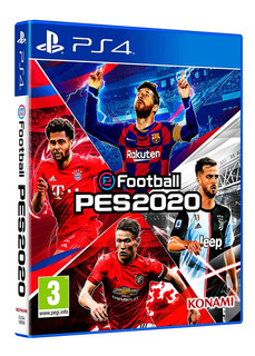 Juego Pes 2020 Ps4 Play 4 Pro Evolution Soccer Fisico Dimm