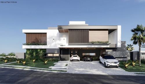 Casa Em Construção A Venda No Condomínio Terras Da Alvorada Em Jundiaí - Ca04008 - 69373207