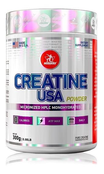Promoção Creatina Powder Usa 300g - Midway