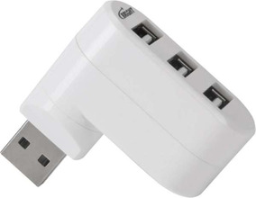 Hub Mini Hub 2.0 3portas Usb P/not