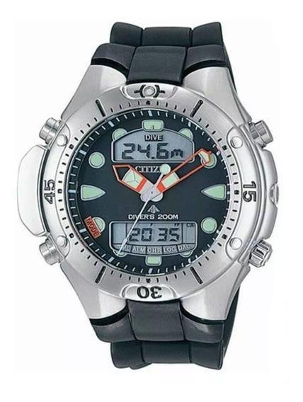 Citizen Aqualand Promaster Jp1060-01e Com 02 Anos Garantia