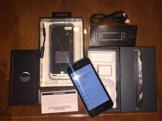 Utentico Apple iPhone 5-negro&slate 16g Unlocked + Acesorios