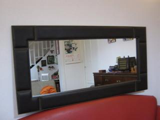 Espejo Forrado En Eco Cuero 120 X 60 Cm Somos Fabricantes!!