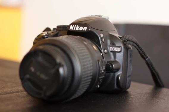 Nikon D3100 Con Lente 18-55 Vr Excelente Estado
