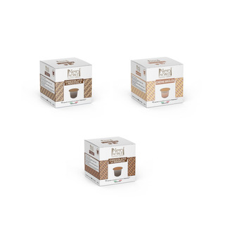 60 Capsulas De Chocolate E Creme Brulee Para Nespresso
