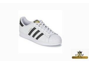 Tênis adidas Superstar Branco/preto