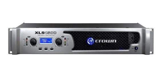 Power Amplificador Crown Xls 1500 Totalmente Nuevo Oferta