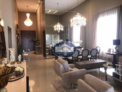 Casa Luxuosa Em Condomínio Fechado . - Ca1215