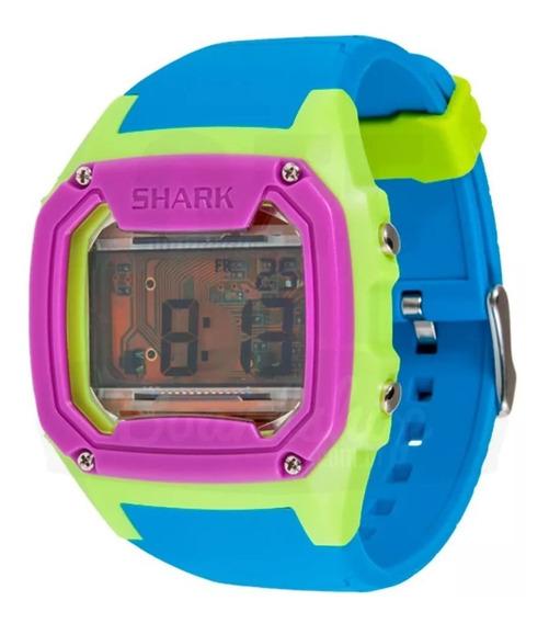 Relógio Freestyle Killer Shark Skeleton - Azul/verde