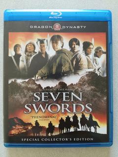 Seven Swords - Donnie Yen - Hong Kong - Blu Ray Original