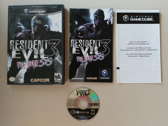 Resident Evil 3 Nemesis Original Americano Completo Novinho!