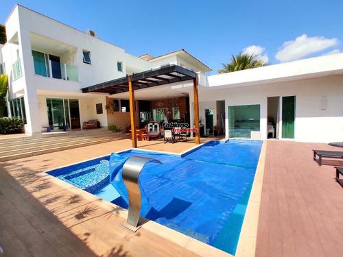 Casa De Alto Luxo 05 Quartos Todos Suíte E Gourmet Fantástico À Venda No Bandeirantes - 5838
