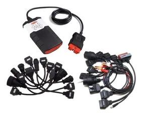 Scanner Automotivo Bluetooth Obd2 Delphi Ds150e + 16 Cabos