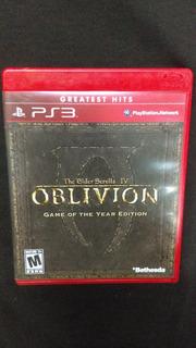 The Elder Scrolls 4 Oblivion Ps3 Goty - Usado - Wird Us